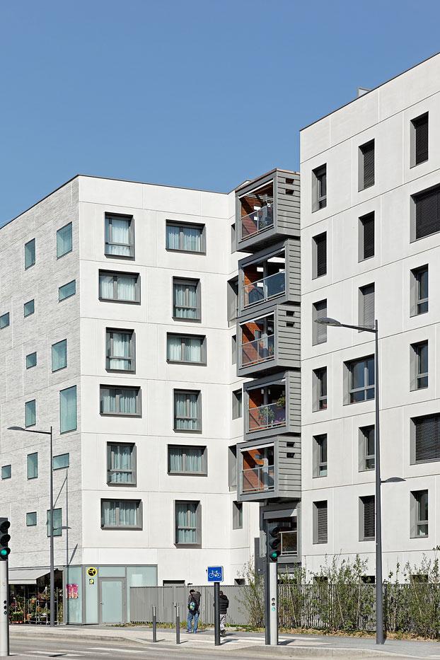 Logements, Hôtel Et Commerces, Pietri Architectes, Issy-Les