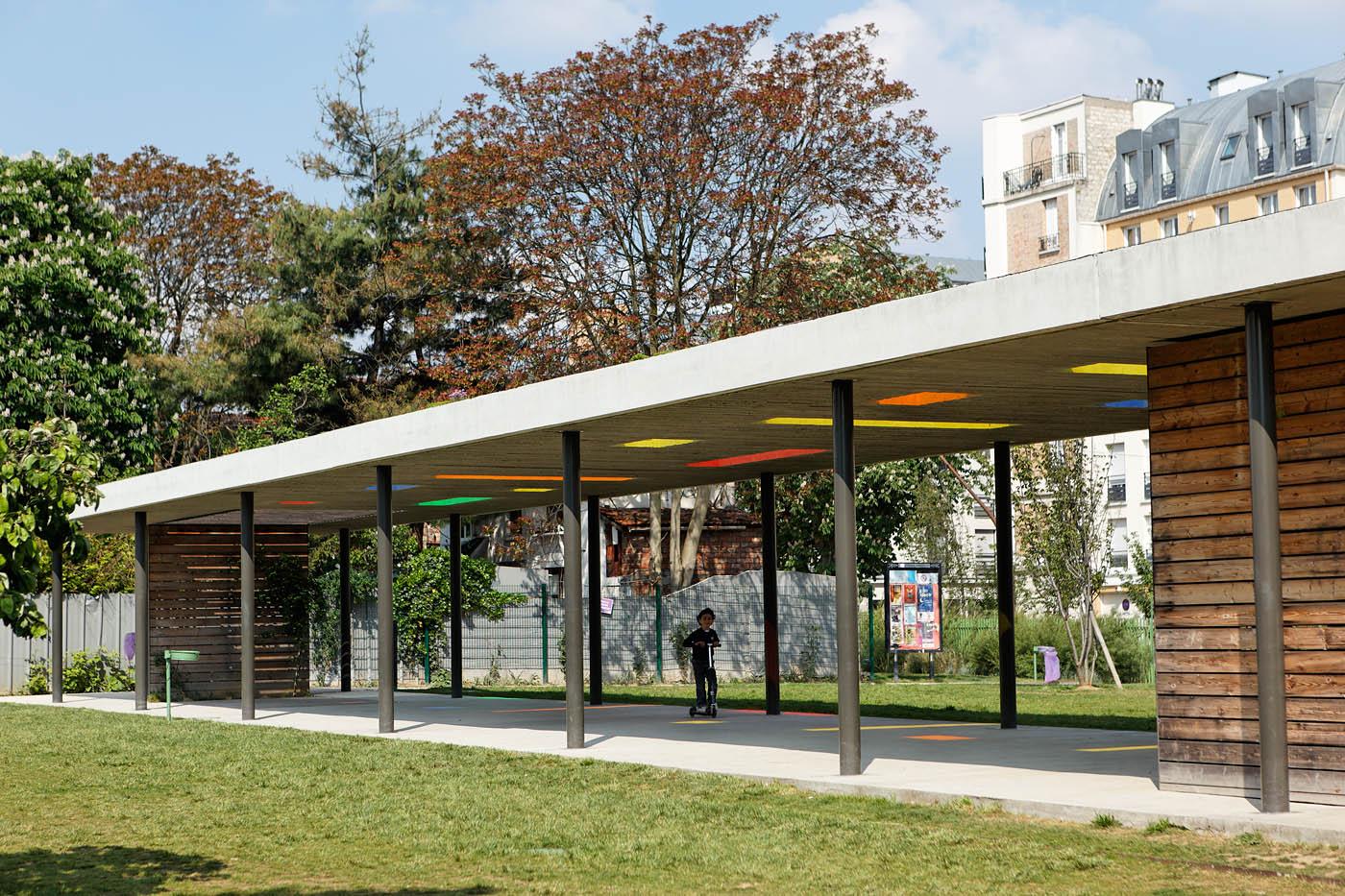 Parc Lucie Aubrac, Les Lilas, Agence PROJECTILES