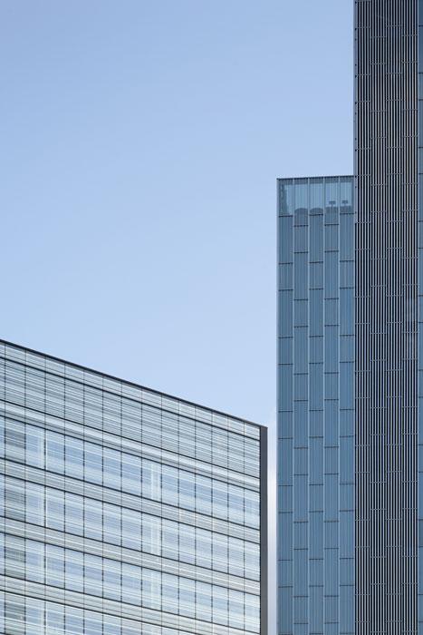Hôtel & bureaux, Domnique Perrault Architecte / Adagp