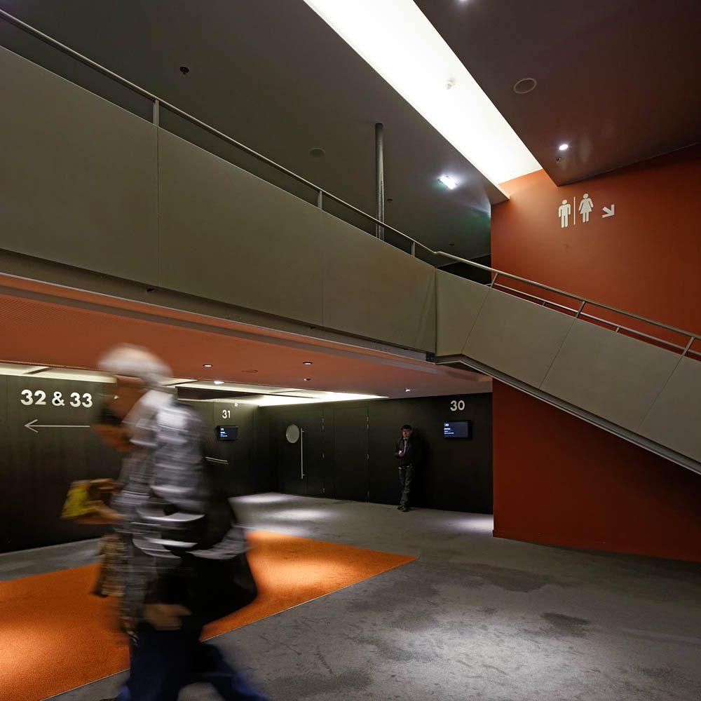 Cinéma UGC des Halles, Cattani Architectes, Paris, 2014