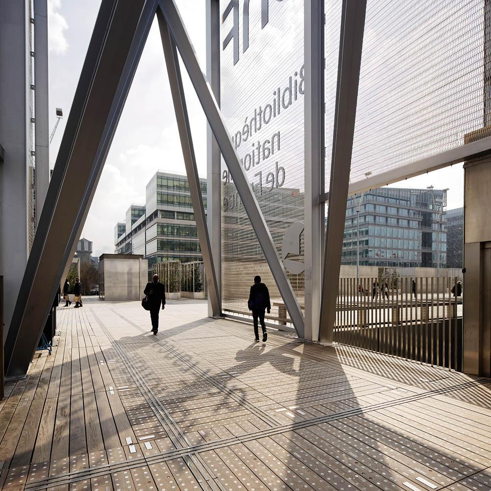 BNF, Dominique Perrault Architecture, Gaëlle Lauriot-Prevost Design, Paris, 2016