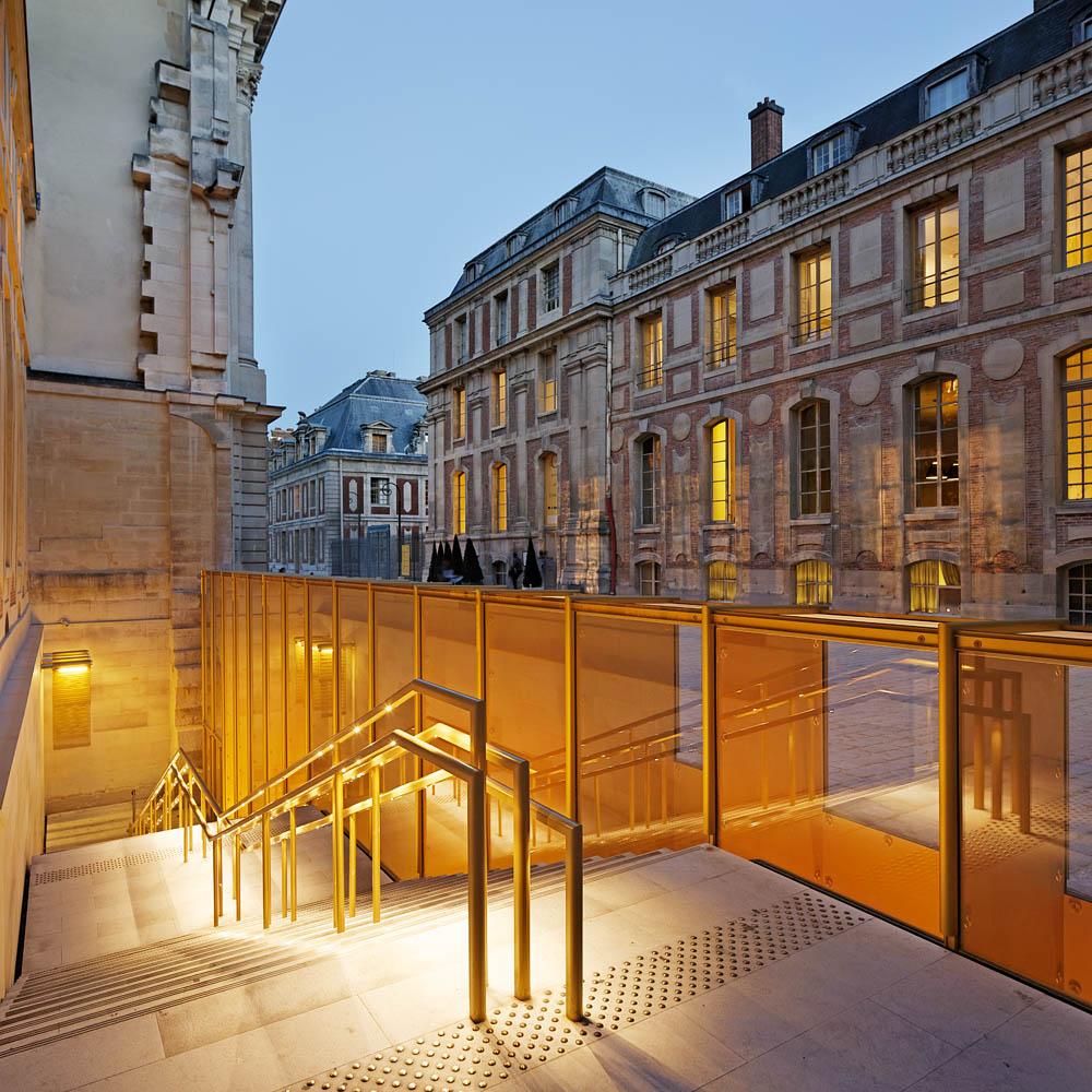 Pavillon Dufour, Dominique Perrault Architecture, Gaëlle Lauriot-Prevost Design, Versailles, 2016