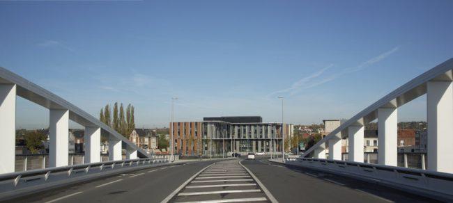 Siège Brézillon, Hubet Godet Architecte, Margny-Lès-Compiègne, 2012