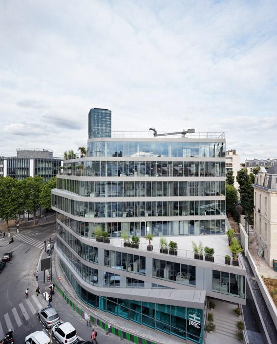 Immeuble de bureaux, Hardel et Le Bihan Architectes, Paris, 2015