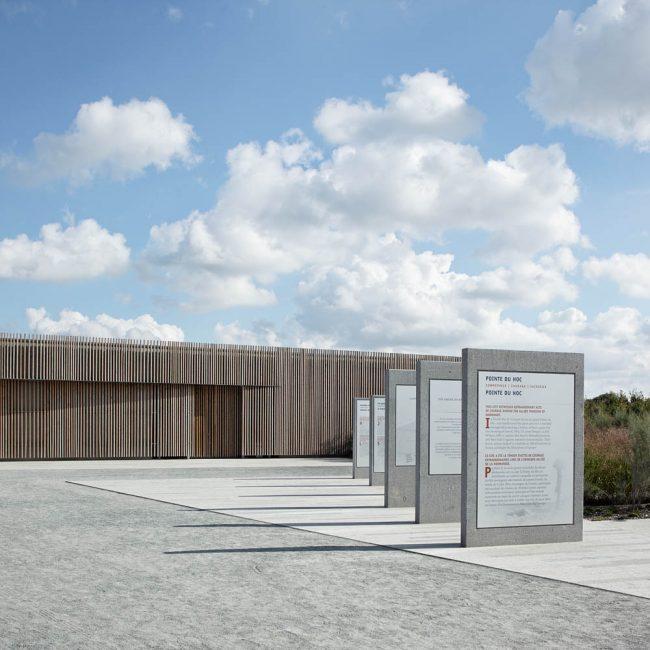 Mémorial de la Pointe du Hoc, Nicolas Kelemen Architecture, Pointe du Hoc, 2014