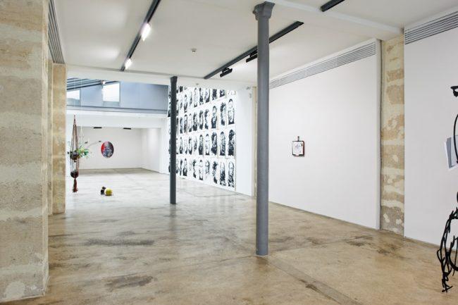 Galerie Claude Berri, Projectiles, Paris, 2009