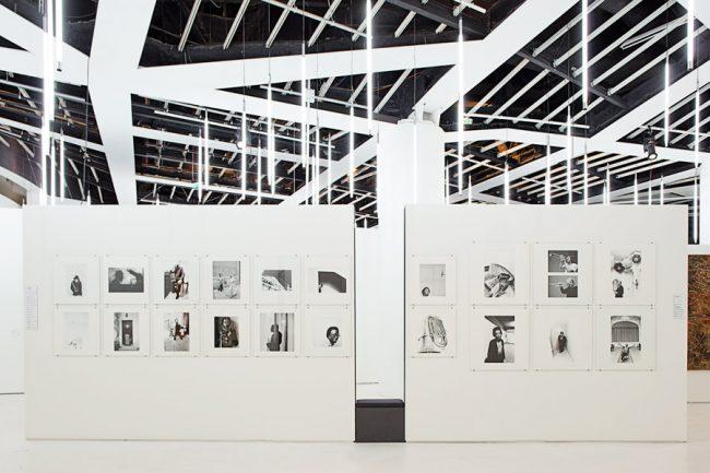Le siècle du Jazz, Musée du Quai Branly, Projectiles, Paris, 2009
