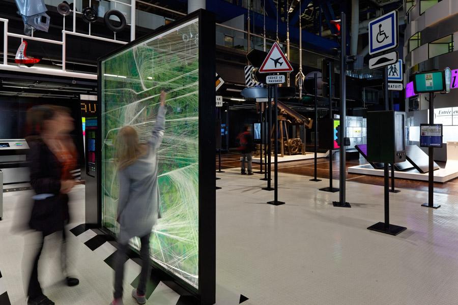 Mobilité, Cité des Sciences et de l'Industrie, Projectiles, Paris, 2011