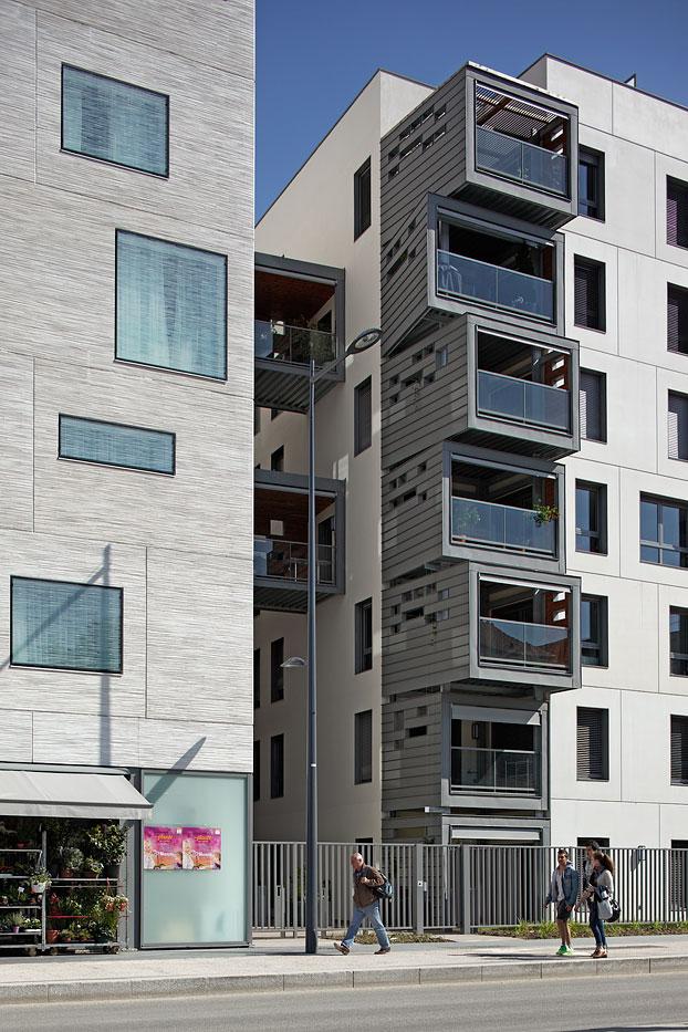 Logements, Hôtel & Commerces, Issy-Les-Moulineaux, Pietri Architecte