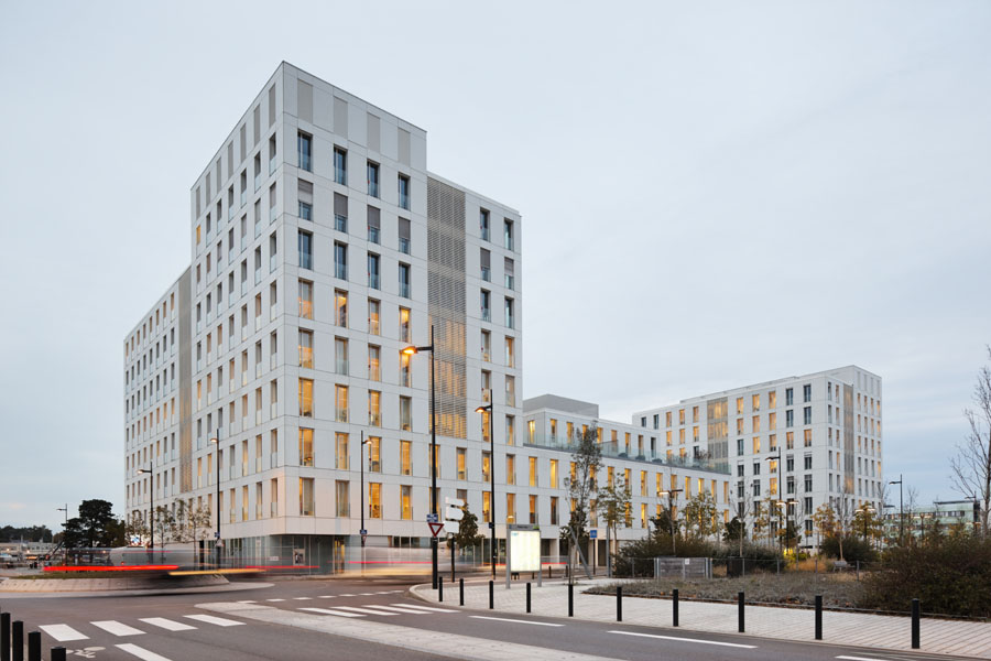 Immeuble Skyline, Ateliers 2/3/4/, Nantes, 2011