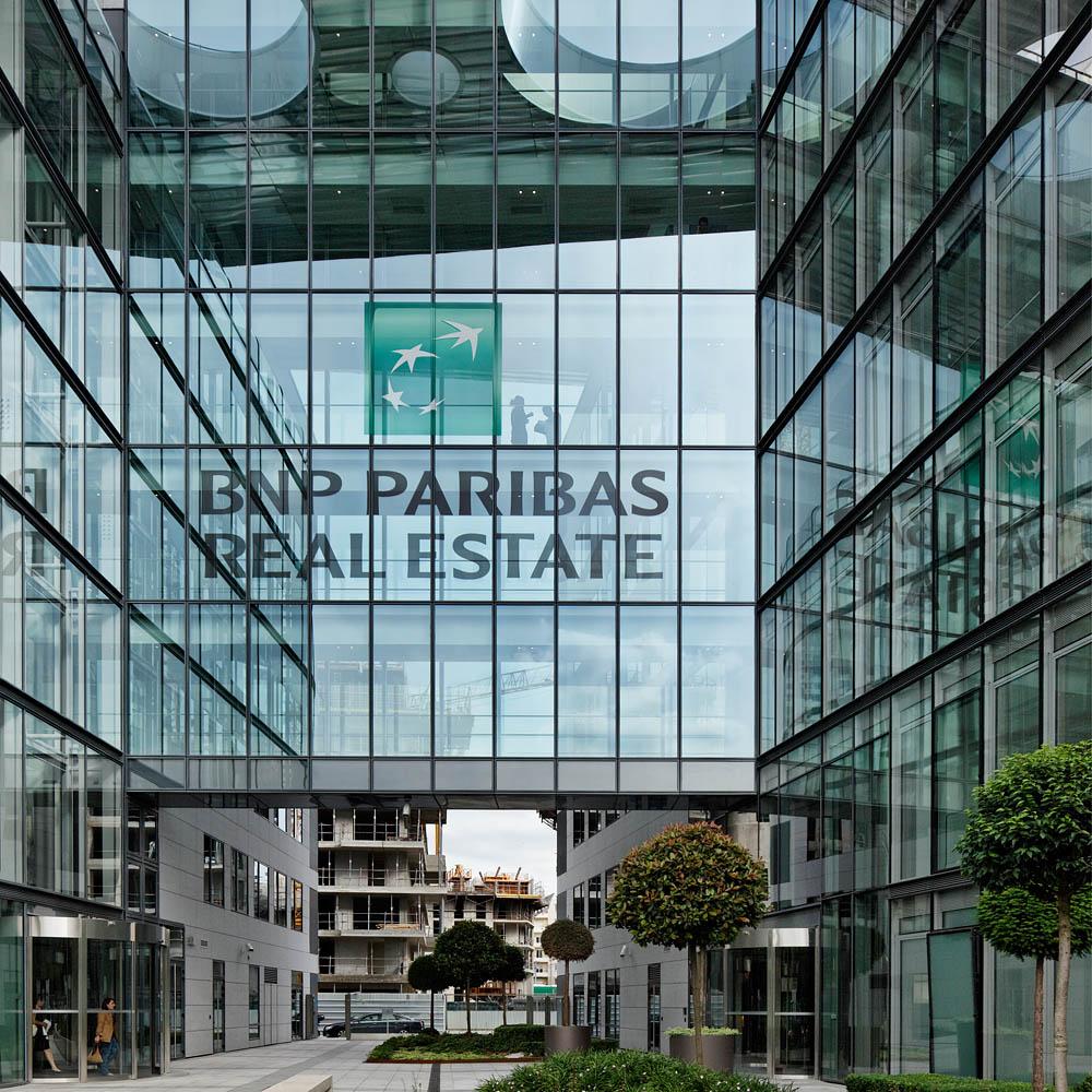 Siège BNP Paribas REAL ESTATE, SCAU, Issy-Les-Moulineaux, 2012