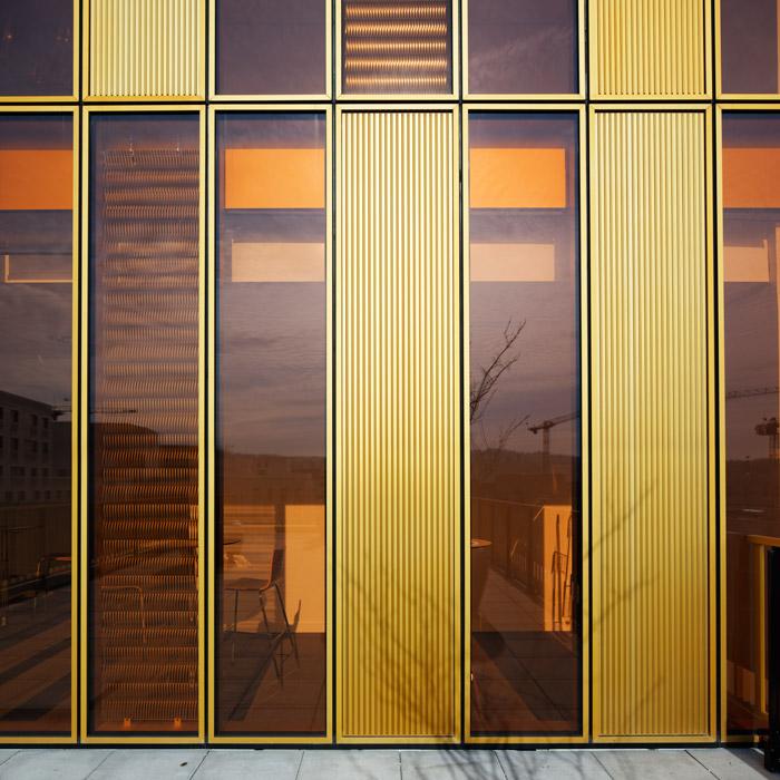 Aurélium, Dominique Perrault Architecture, Boulogne, 2009