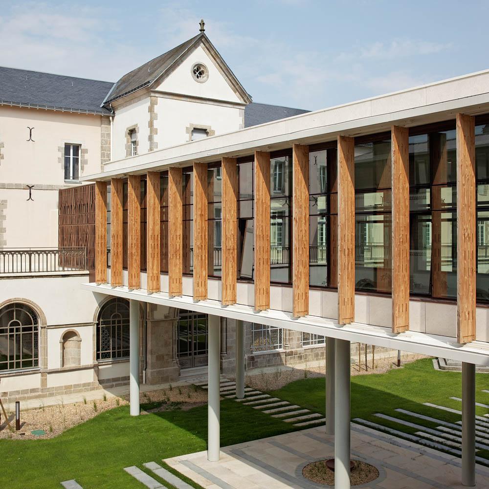 Congrégation des Filles de la Sagesse, Edifices Architectes, Saint Laurent sur Sévre, 2013