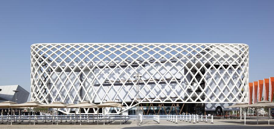 Pavillon Français, Jacques Ferrier Architecture, Shanghai, 2010