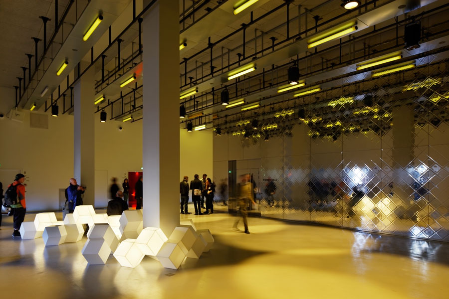Gaité Lyrique, Manuelle Gautrand Architecture, Paris 2010