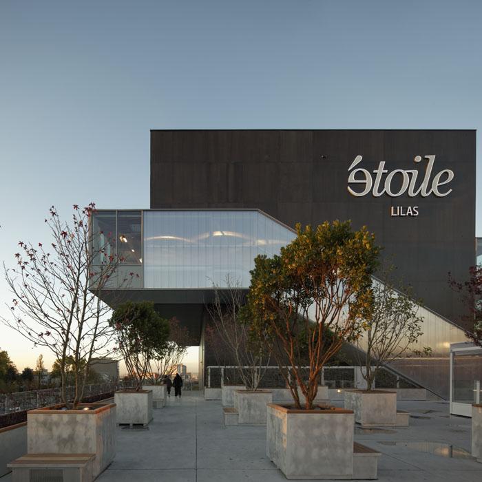 Cinéma Étoile Lilas, Hardel et Le Bihan Architectes, Paris, 2012