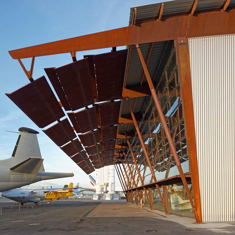 Musée de l'Air et de l'Espace, Nicolas Kelemen Architecture, Le Bourget, 2015
