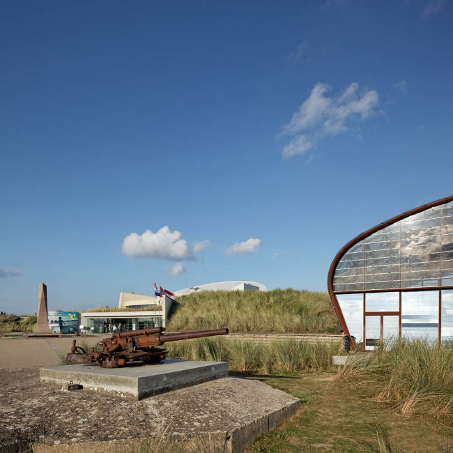 Musée d'Utah Beach, Nicolas Kelemen Architecture, Sainte Marie du Mont, 2014