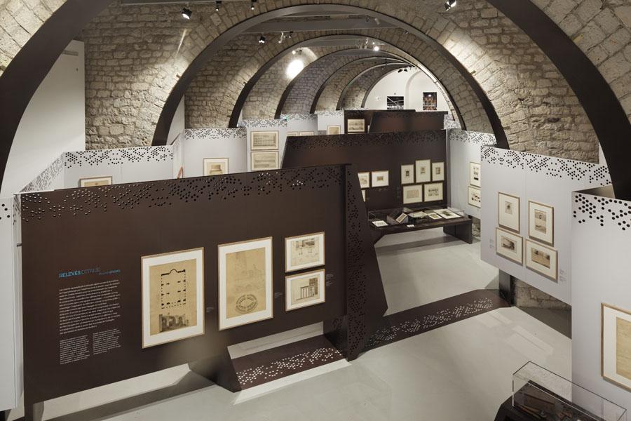 Labrouste architecte 1801-1875, Cité de l'Architecture, Manuelle Gautrand Architecture, Paris, 2012