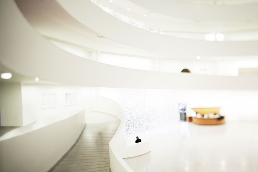 Musée Guggenheim, New York, Frank Lloyd Wright