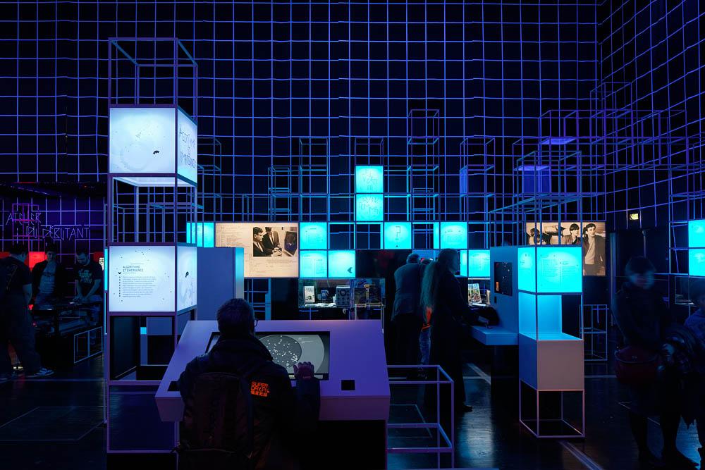 Jeu vidéo, Cité des Sciences et de l'Industrie, Projectiles, 2013