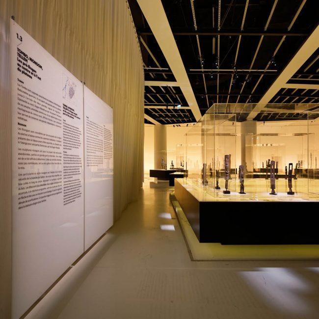 Dogon, Musée du Quai Branly, Projectiles, Paris, 2011