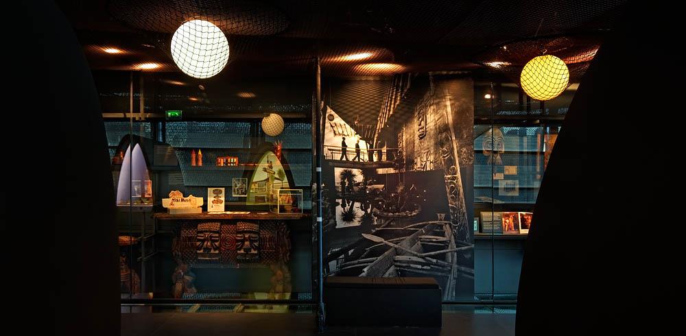 Tiki Pop, Musée du Quai Branly, Projectiles, Paris, 2014
