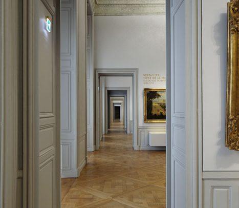 Aménagement de la galerie d'histoire du Château de Versailles, Projectiles, Versailles, 2012