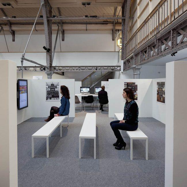 Work In Process, Pavillon de l'Arsenal, Paris, 2012
